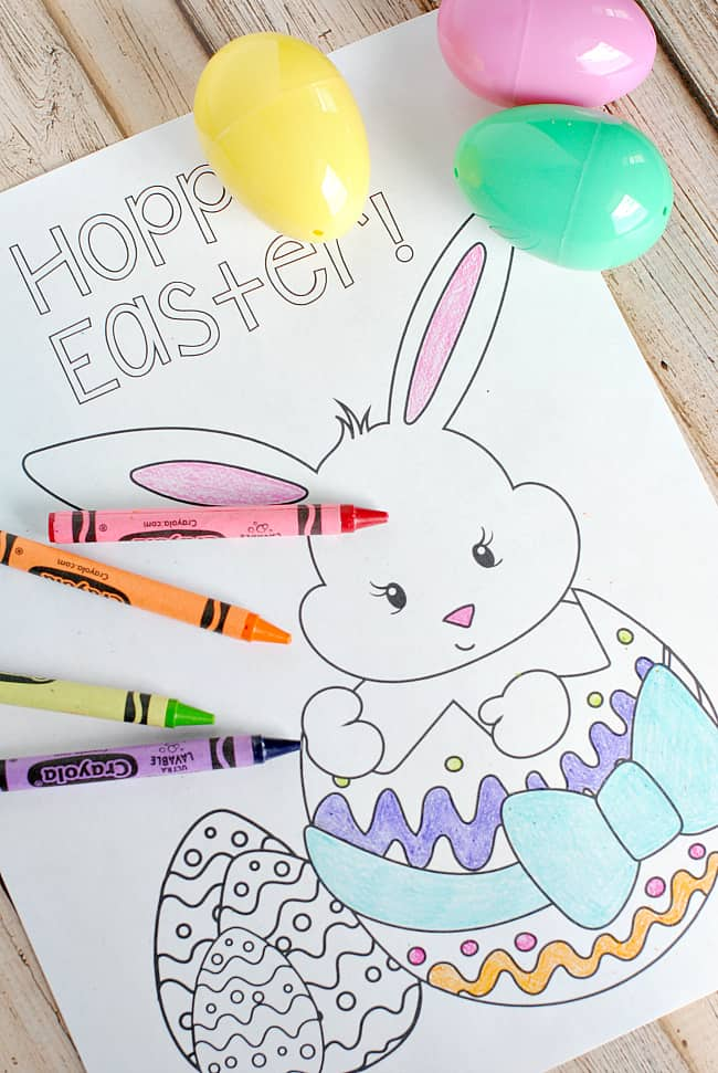 - Free Easter Coloring Page Printables - Pretty Providence