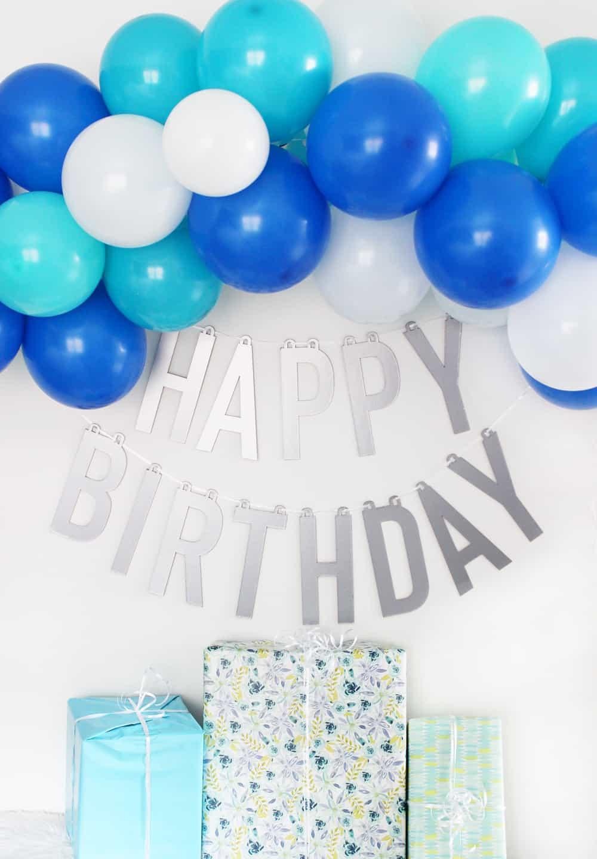 How To Make Diy Happy Birthday Banner
