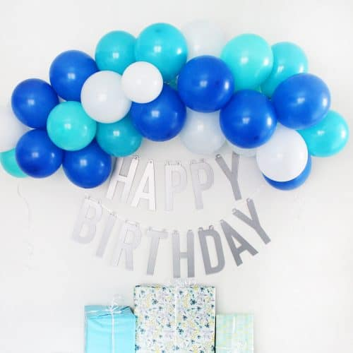 Happy Birthday Banner DIY