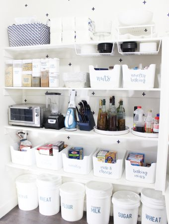 pantry organization at it's finest! great tips and tricks in this post!