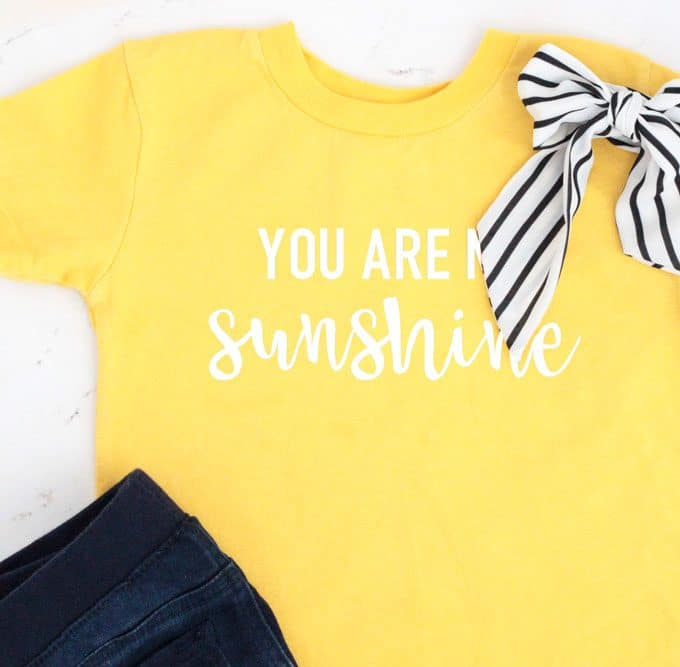 How to Make a Shirt with a Cricut