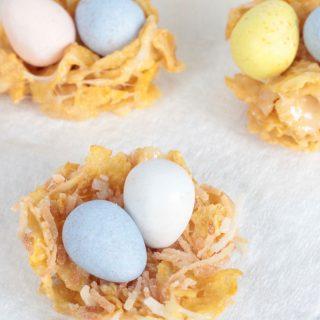 Cornflake Easter Nest