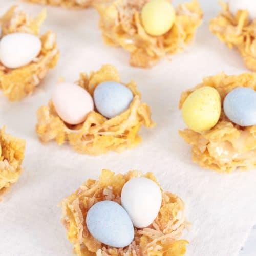 Cornflake Easter Nests