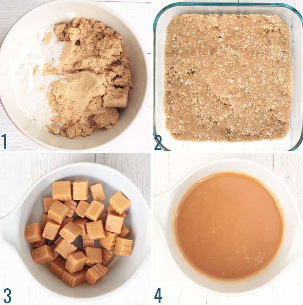 How to Make Caramelitas - step by step photos.