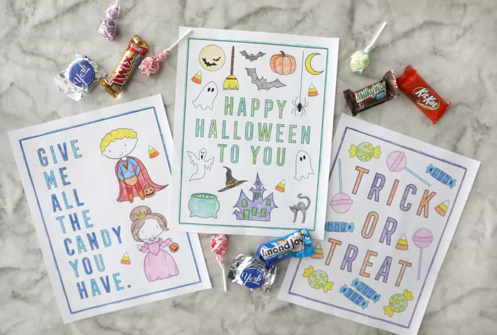 - Printable Halloween Coloring Pages - Pretty Providence