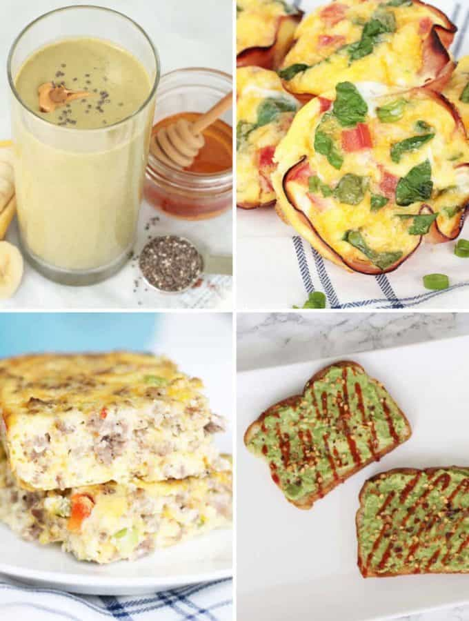 Easy and Healthy Breakfast Ideas