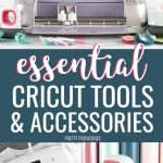 Cricut accessories and tools collage