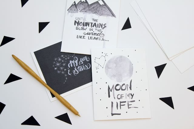 Free Game of Thrones Valentines Cards 'You are the moon of my life' and two other phrases from eatsleepmake.com