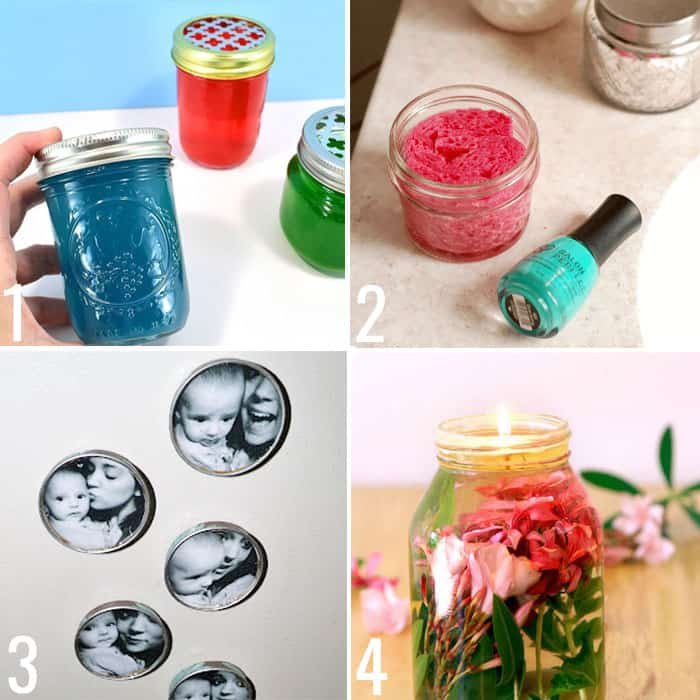 Useful crafts to make with baby food jars