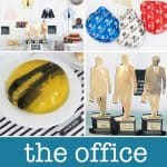 The Office birthday party ideas collage of photos