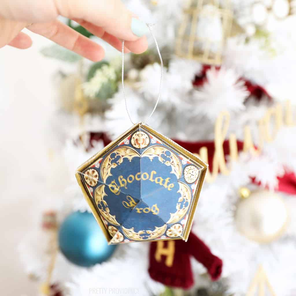 Chocolate Frog Harry Potter Christmas Ornament