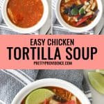 easy tortilla soup picture optimized for pinterest