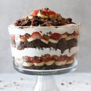 Brownie Heath Bar Trifle