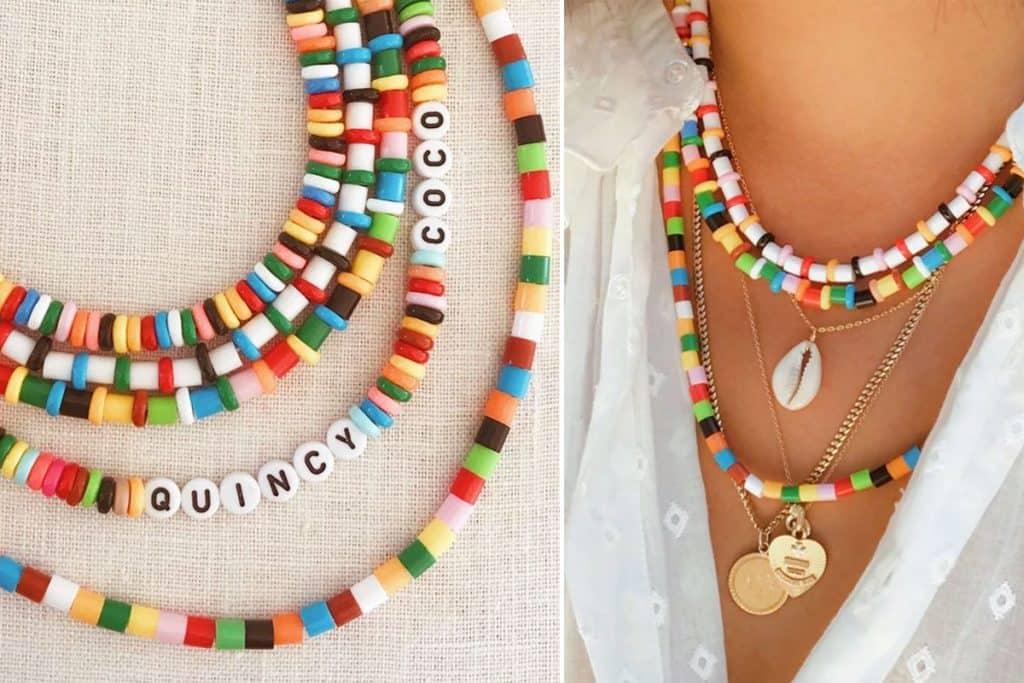 DIY Perler Bead Necklaces from Honestly WTF