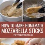step by step photos of how to make mozzarella sticks optimized for pinterest